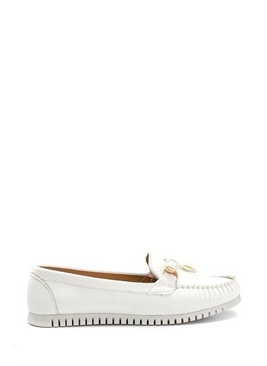Derimod Kadın Loafer (210) Casual Beyaz